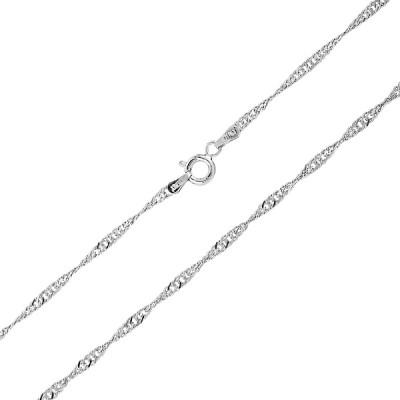 Ланцюжок срібний Сінгапур (DCATE0727 R)