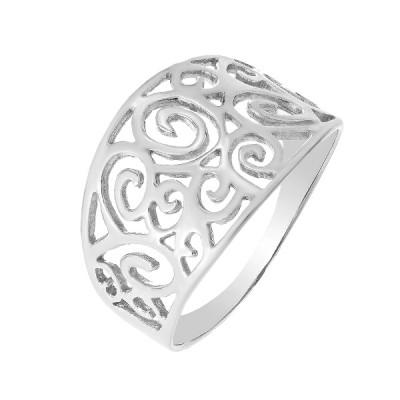 Каблучка срібна фантазія без каменів   (КБ359)
