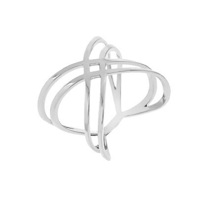 Каблучка срібна фантазія без каменів   (КБ393)