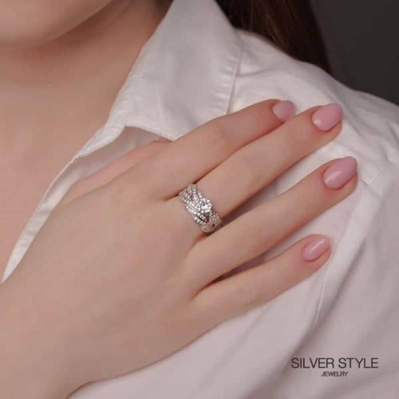 Покупаем серебряное кольцо