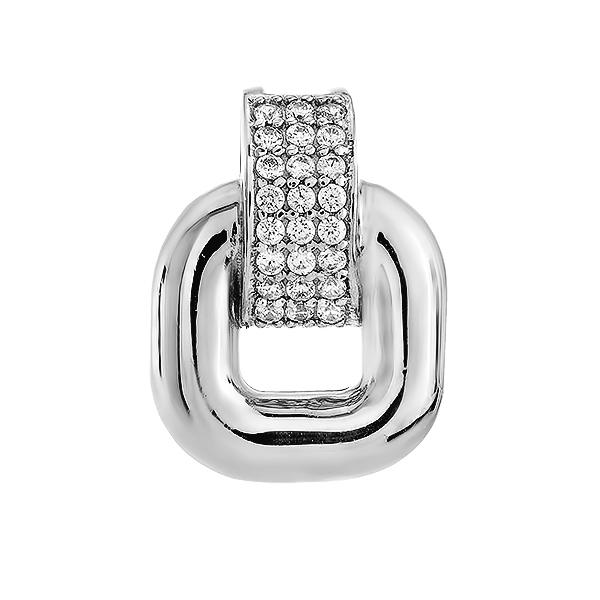 Підвіска срібна фантазія з розсипом (N00027)