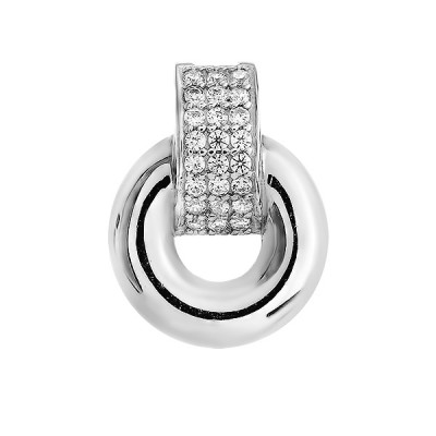Підвіска срібна фантазія з розсипом (N00028)
