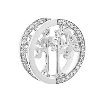 Підвіска срібна фантазія з розсипом (N00038)