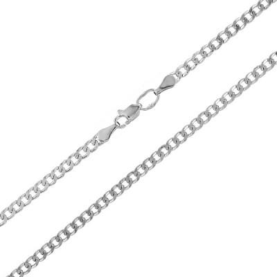 Ланцюжок срібний Гурмет (Панцерна 50)