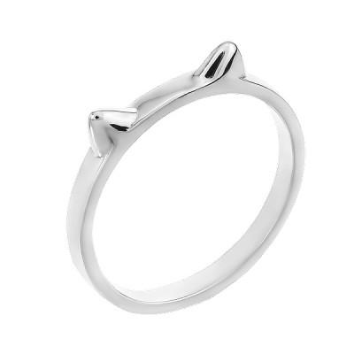 Каблучка срібна без каменів (R00034)