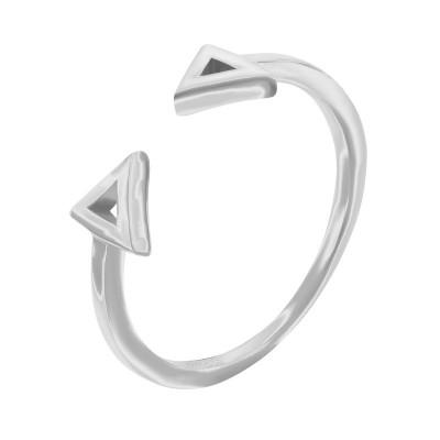 Каблучка срібна без каменів (R00041)