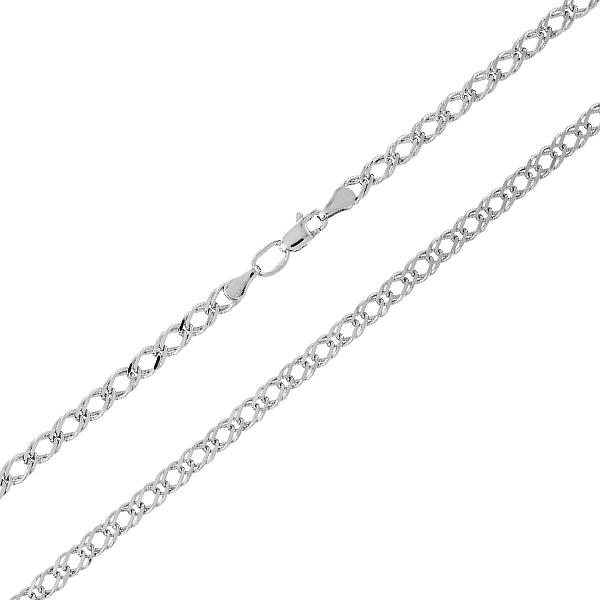 Ланцюжок срібний Ромб (Рембо0.40)