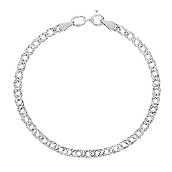 Браслет срібний Ромб (Рембо0.50)