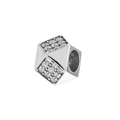 Підвіска срібна фантазія з розсипом (ТР1634)